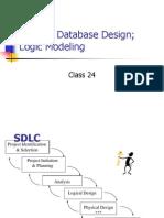 Class24_DesigningDatabases_LogicModeling