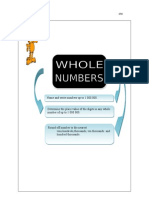 (1) Whole Numbers ( Page 01- 08 )