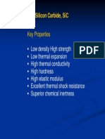Silicon Carbide Properties