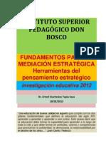 Fundamentos para la mediación (Inv 2012)