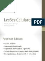 AULA 3 - Lesões Celulares
