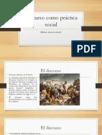 Discurso como práctica social