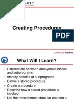 S07L01 Creating Procedures