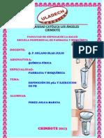 DEFINICIÓN pKa Y EJERCICIOS DE PH