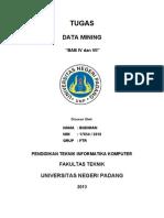 17854 Budiman - BAB IV Dan VII Data Mining UNP