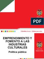 Emprendimiento Cultural