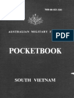 Australian Military Forces - Pocketbook South Vietnam 1967