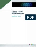 Electra 9200 Encoder Install Guide