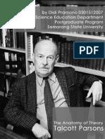 Anatomi Teori Talcott Parsons