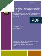 Critical Review Jurnal Ekonomi