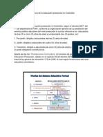 Estructura de la educación preescolar en Colombia