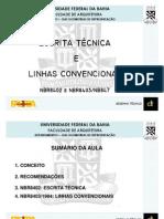 Aula 01 - Escrita Tecnica e Linhas-T1 H