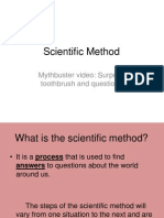 scientific method ppt