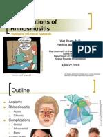 Sinusitis Slides 2011 0425