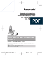 Panasonic KX-TG6721 User Manual