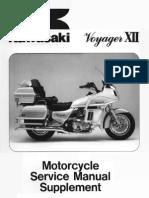 Kawasaki ZG1200 Voyager XII Service Manual Supplement