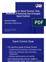 Fracturing for Sand Control