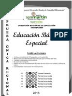Prueba Contrato Docente 2013 San Martin EBE