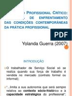 O Projeto Profissional Crítico - fund IV - GUERRA