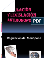 Diapo Regulacion de Antimonopolio