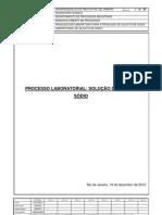Processo laboratorial para formação de silicato de sódio