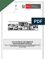 Prueba Contrato Docente 2013 Lima EBE