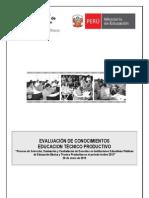 Prueba Contrato Docente 2013 Lima ETP