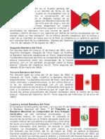 Historia banderas del Perú