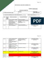Cronograma Farmacología II