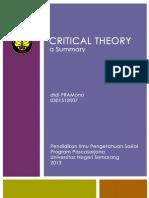 Teori Kritik