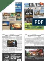 "Kuta Weekly-Edition 345 'Bali's Premier Weekly Newspaper"""
