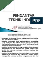 PTI Pengantar Teknik INdustri