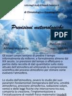 Previsioni meteorologiche