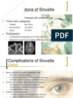 Complication of Sinus Disease