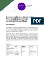 ana-carolina-hecht-lenguas-indígenas-de-argentina