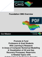 Foundation CMG Overview