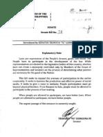 Senate Bill No 73 - Philippine Crowdsourcing Act of 2013 (Filed by Senator TG Guingona)