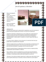 Tarta de Quinua y Chocolate