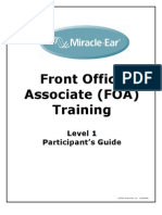 Front Office Associate Participants Guide