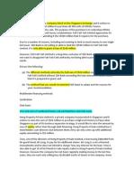 Finance Law Exams