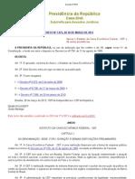 Estatuto CEF -  Decreto nº 7973