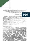 El campo de investigación de la antropología social en México