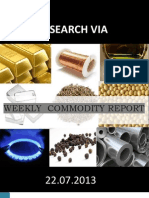 Commodity Report Weekly