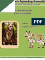 Kanchi Paramacharya Community - Go Samrakshanam (Cow Protection) -EBook # 3