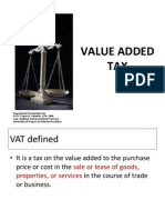 Taxation 08 - Value Added Tax