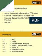 Methodology Stress Factors