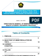 MEMR Regulation No. 7 - 2012