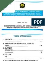 MEMR Regulation No. 7 - 2012