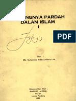 Pentingnya Pardah Dalam Islam-mlv.muhammad Siddiq Amritsari Ha.