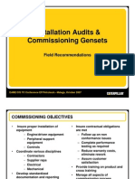 Installation Audits - Commissioning Gensets